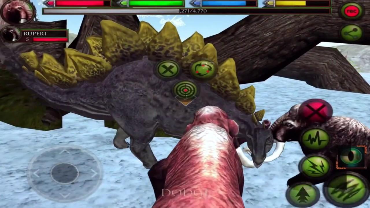 Mammoth VS Sabertooth Tiger, T-Rex, Dinosaurs, Ultimate ...
