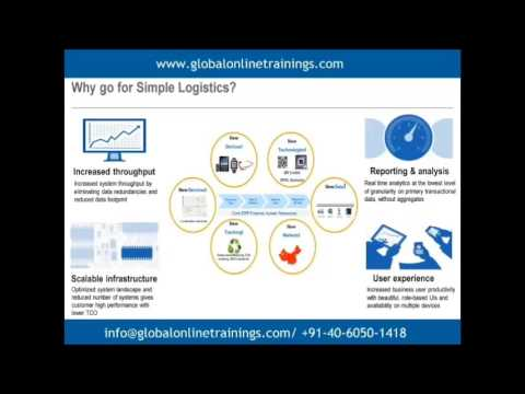SAP S/4HANA SIMPLE LOGISTICS ONLINE TRAINING DEMO VIDEOS | BEST ...