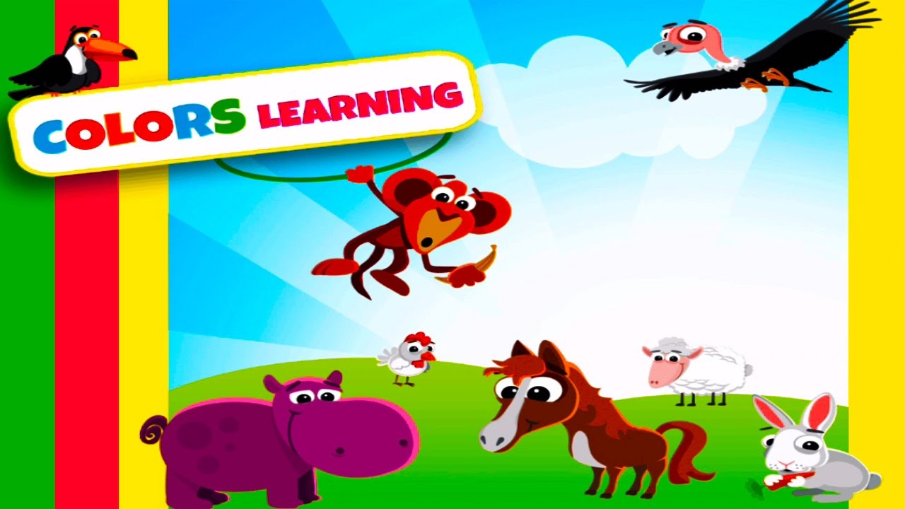 Baby Learn Colors Learning colors for Kids Learning Games for ...