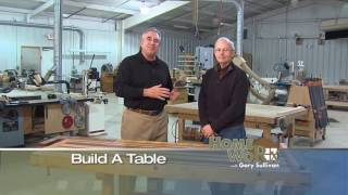 "Clermont Woodworking And Design Homeworx With Gary Sullivan ""build A Table"""
