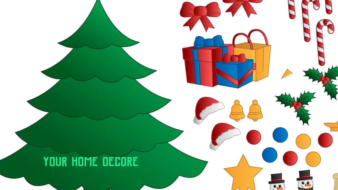 Christmas Tree Card & Free