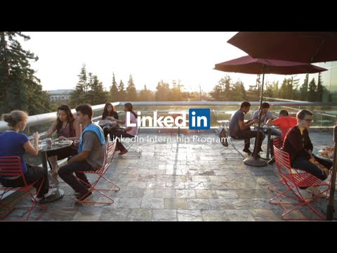 LinkedIn Intern Program Video