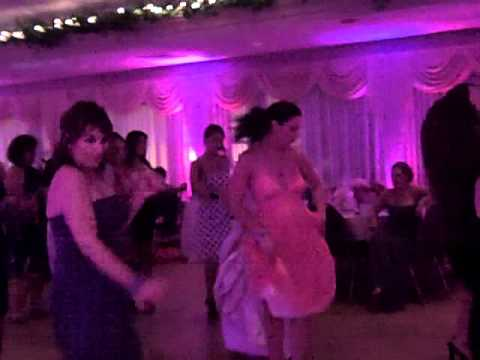 Rhode Island Wedding Cupid Shuffle Pawtucket Country Club