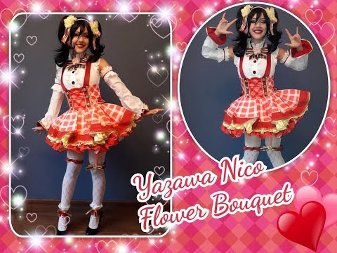 Yazawa Nico Flower Bouquet Cosplay |unboxing And Review| Saikouanime