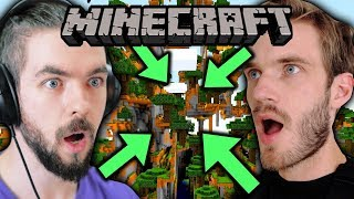 We Got So LUCKY In Minecraft w/pewdiepie