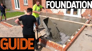 How To Do Foundations For House Extension