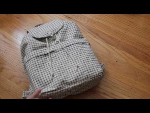 Baggu: Backpack in Natural Grid (Review)