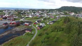 DJI Phantom 4 Drohnenvideo - Das Fischerdorf Bud (Norwegen) [4K]