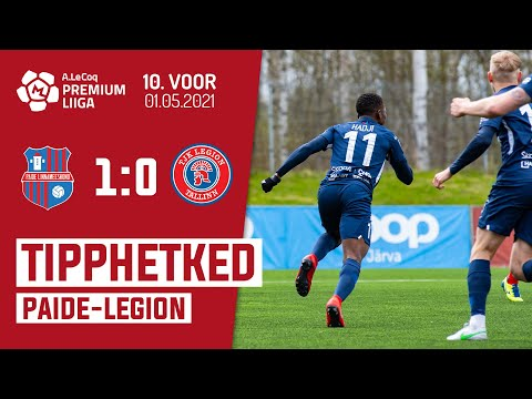 Paide Linnameeskond Legion Goals And Highlights