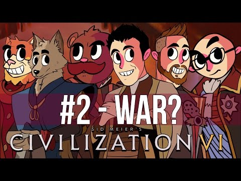WORLD WAR NLSS #2 - WAR? [Civilization VI]