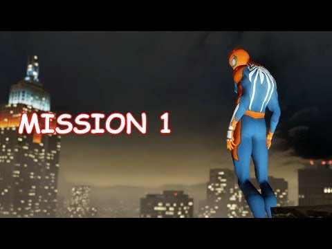 Playing as PS4 Spider-man - Mission 1 - The Amazing Spider-man 2 (PC)