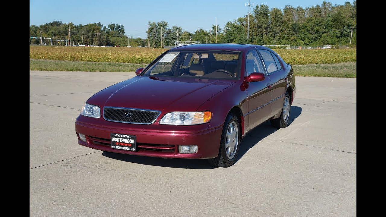 for sale 1993 lexus gs300 54 000 miles  [ 1280 x 720 Pixel ]