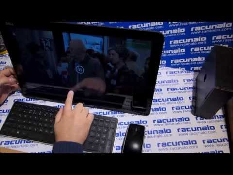 Dell XPS 18 All-in-One video test (13.04.2014)