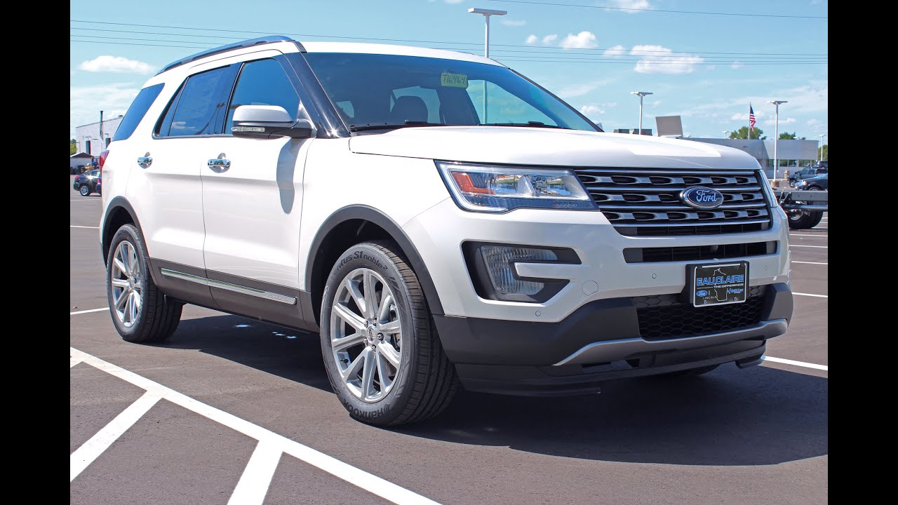 2017 ford explorer limited ecoboost 4x4 suv at eau claire ford lincoln quick lane youtube. Black Bedroom Furniture Sets. Home Design Ideas