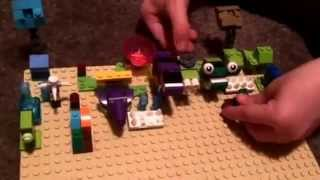 Bradley PowerUp with plants vs zombies (pvz) Lego creation and more plants and zombies. thumbnail