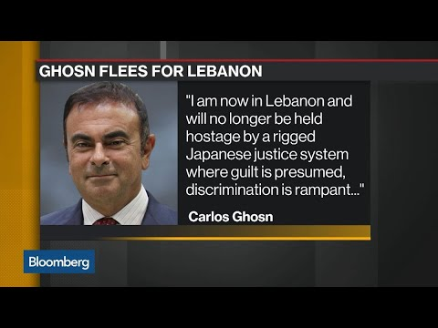 Mystery Surrounds Carlos Ghosn's Escape to Lebanon