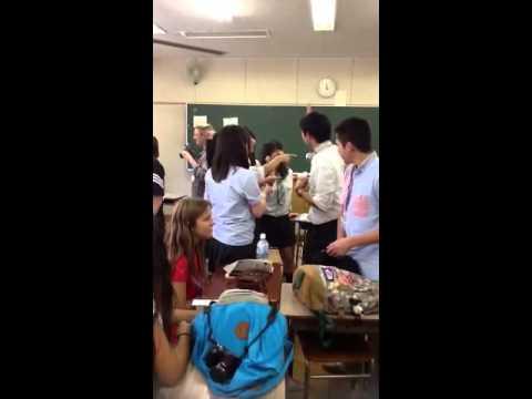 Japan school visit