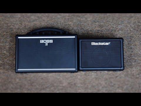 THESE ARE NOT TOYS: Boss Katana Mini vs Blackstar Fly 3 Mini Guitar Amplifier Comparison