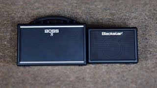 THESE ARE NOT TOYS: Boss Katana Mini vs Blackstar Fly 3 Mini Guitar Amplifier Comparison