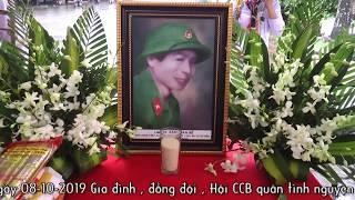Hội CCB Thương Binh Trung Đoàn 8 Sư Đoàn 339 Hải Phòng Lễ Đón Nhận Hài Cốt Liệt Sỹ Đàm Văn Bê