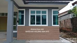 New house with beautiful design