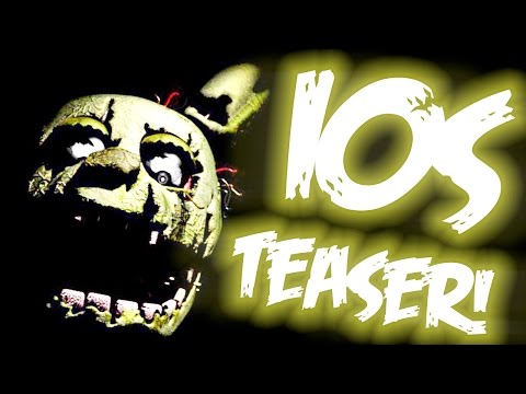 Springtrap teaser on ios rare loading screen five nights at freddy