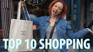 Top 10 Shopping Areas Amsterdam