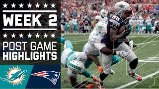 Dolphins vs. Patriots | NFL Week 2 Game Highlights