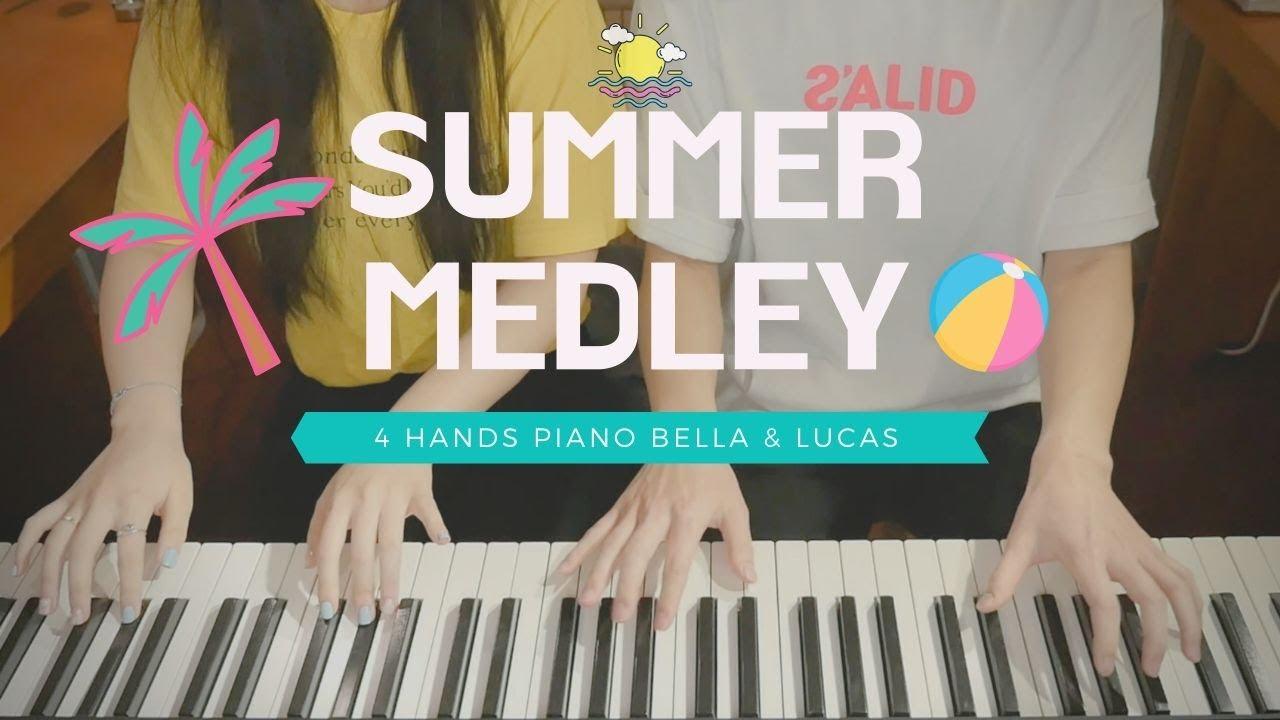🎵 여름 메들리 SUMMER MEDLEY - KPOP | 4hands piano