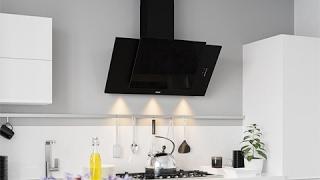 Кухонная вытяжка ELEYUS TITAN LED SMD - видео обзор вертикальной вытяжки