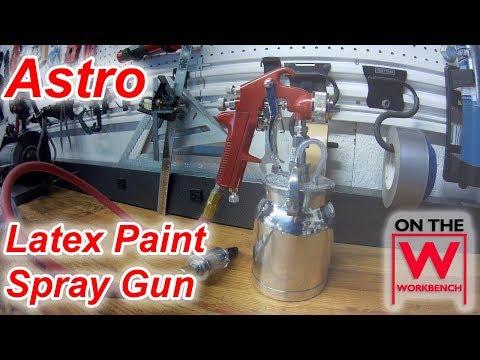 Astro Pneumatic Spray Gun - Latex Paint