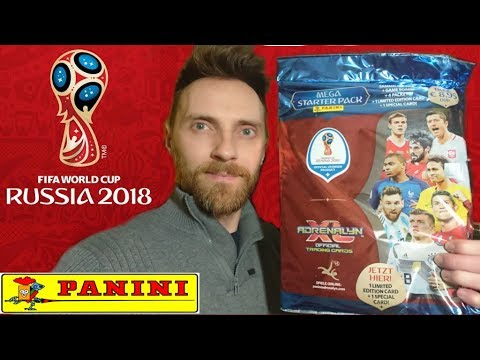 MEGA ZESTAW STARTOWY FIFA WORLD CUP RUSSIA 2018 PANINI UNBOXING