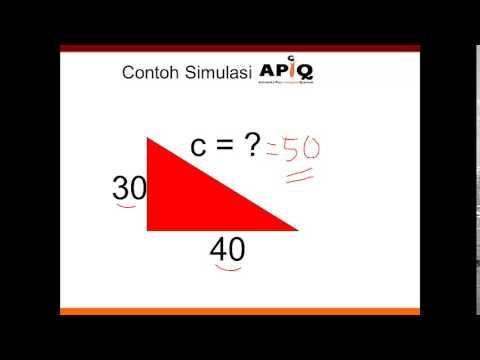 Geometri Pythagoras Terkenal Cara Cepat - Jurus 7 Detik Matematika Paman APIQ