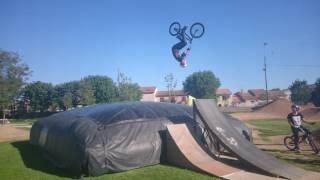 bmx session airbag  srignan 360 backflip