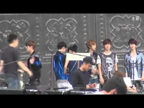 【FANCAM】120814 KBS 2012 Olympic Welcome Back Concer EXO-K (SEHUN)
