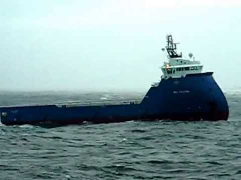 Brand New Platform Supply Vessel 'Sea Falcon' in the North Sea