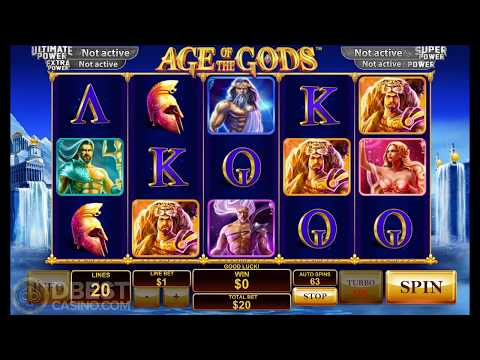 Age Of The Gods Slot - Big Win