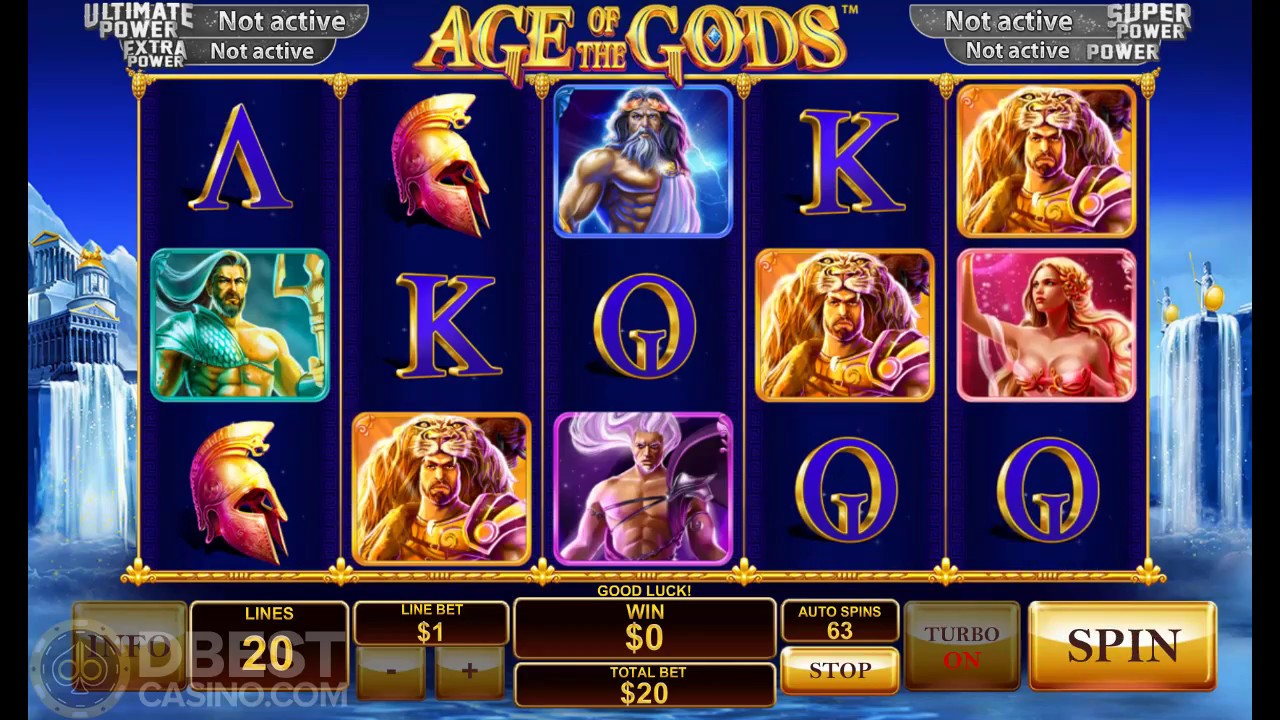 Age of the Gods Slot - Big Win - YouTube