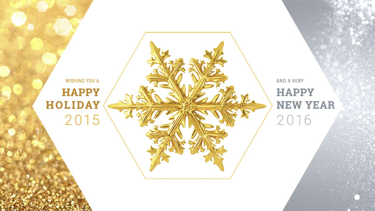 Greetings of the Season and Happy Holiday 2015 - YouTube