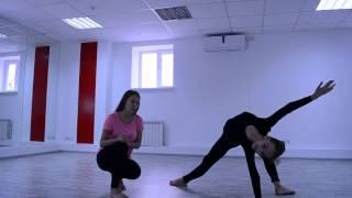 Contemporary dance видео урок для начинающих танец