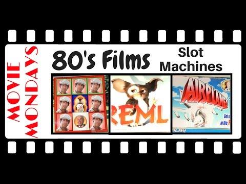 80's Films Slot Machines ✦MOVIE MONDAYS✦  Live Play at Cosmo, Las Vegas and Seneca, Niagara