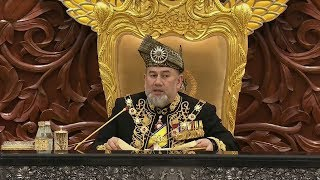 Agong praises govt's no-holds-barred approach