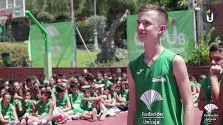 Campus Fundación Unicaja Baloncesto 2019 T3: Visita Carlos Suarez