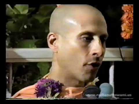 Radhanath Swami at Dr Mohan Indani's Residence 1990 - Part 02