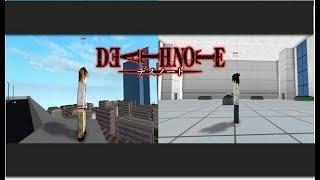 OPENING DEATH NOTE EN RO-GHOUL/ROBLOX/OMICRON GT