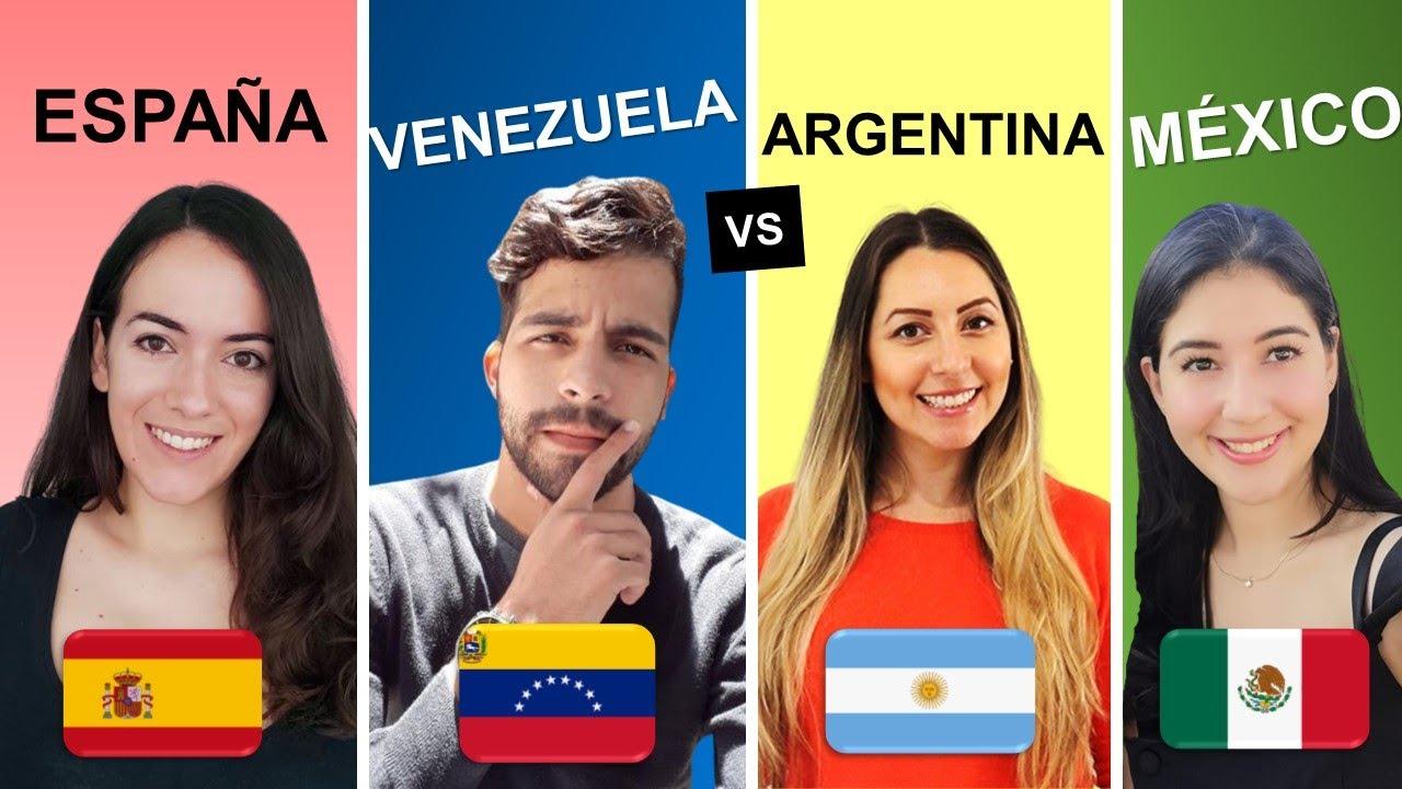 Argentina vs España vs México: pronunciación LL y Y | VOS vs TÚ | Rioplatense vs Argentinean accent
