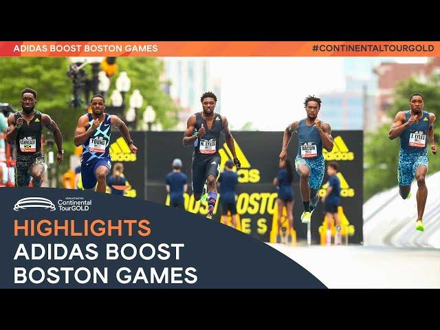 Adidas Boost Boston Games   Continental Tour Gold