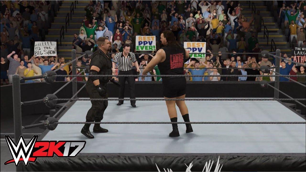 WWE 2K17 - The Big Boss Man vs  The Big Show: WWE Championship