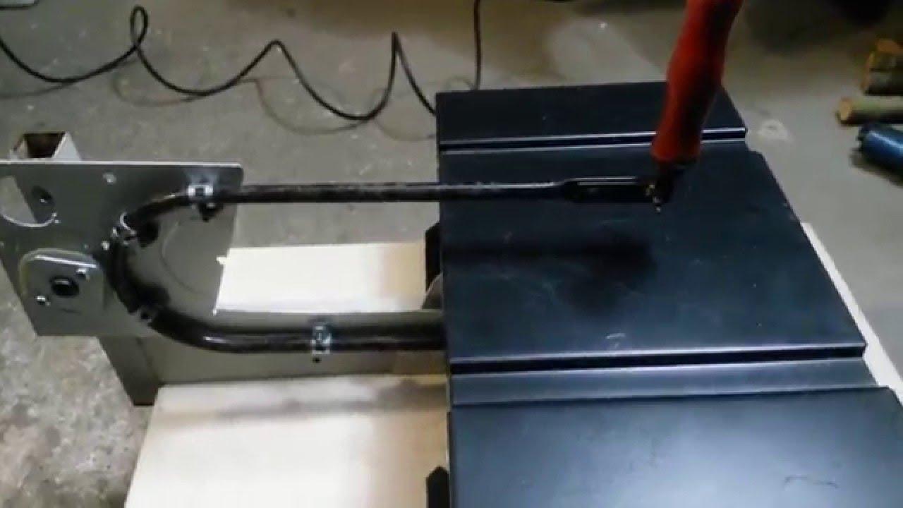Схема размещения технологического оборудования