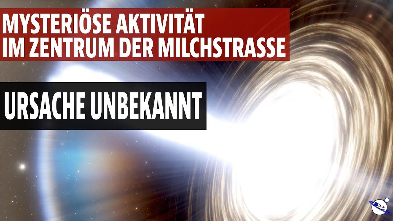 Mysteriöse Aktivität im Zentrum der Milchstrasse entdeckt - Ursache unbekannt